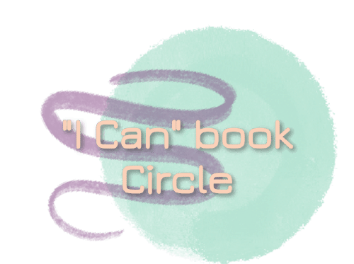 """I Can"" book Circle announcement icon"