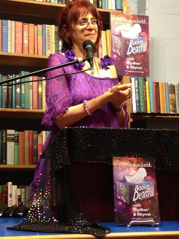 Pamela Sackett at Elliott Bay Books 'Booing Death' reading